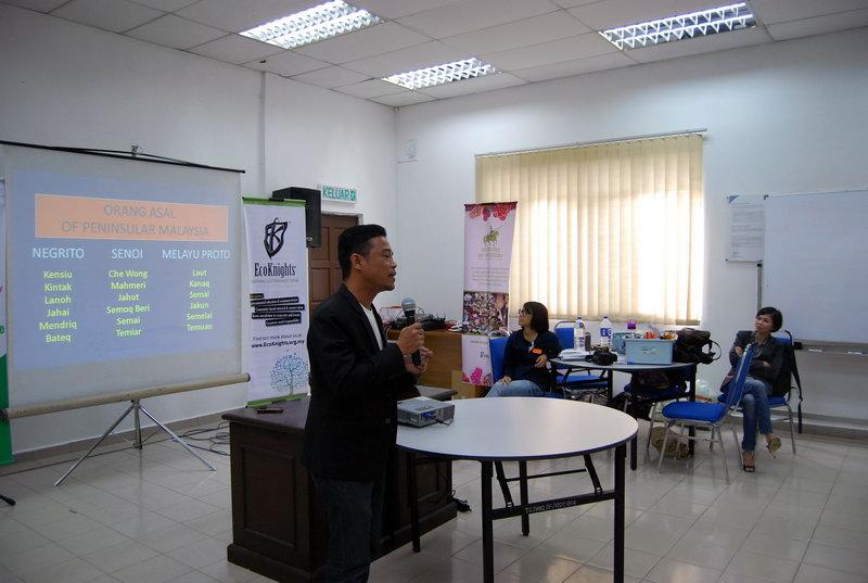 Amlir giving his presentation